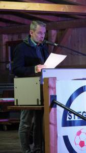 1. Kassierer Björn Ehler gibt einen Überblick der Finanzen