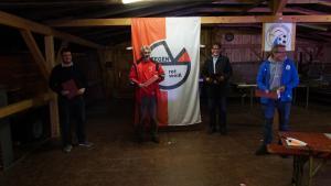 Ehrungen/ Bronzene Vereinsehrennadel für 5 Jahre Ehrenamt